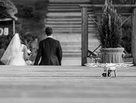 vestuvių filmavimas is oro