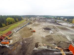 AB Dolomitas, statybų fotografavimas iš oro