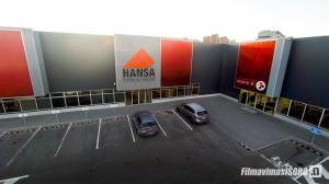 HANSA plytelių turgus (Fotografavimas iš oro)