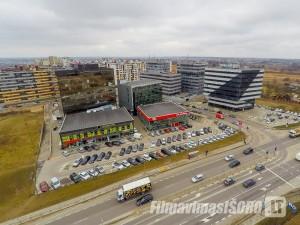 Perkūnkiemio rajonas, Vilnius (Nuotraukos iš oro)