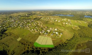 Sklypas Sudervėje, sklypų fotografavimas iš oro