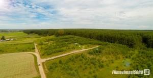 Trakų raj. sklypų fotografavimas iš oro