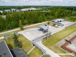 Kaunas Oil Terminal (fotografavimas iš oro)